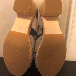 UGG Shoes - UGG clog platform sandals in tan size 10